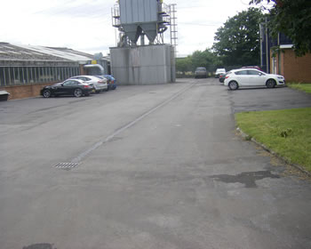 Coloured Macadam Asphalt Surfacing